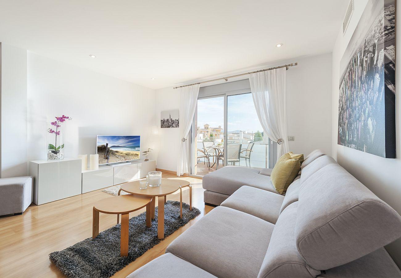 Apartamento en Port de Pollença - Penthouse Rosas