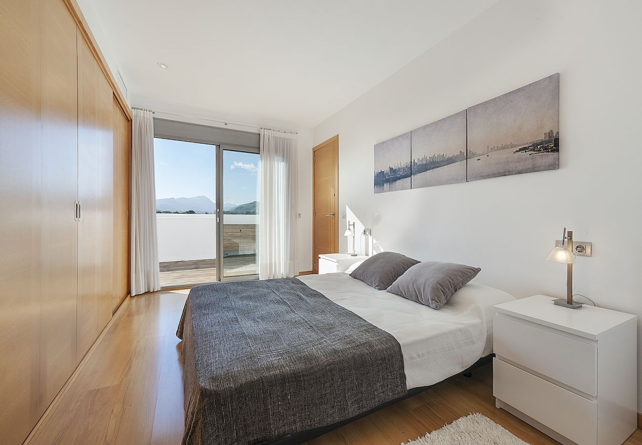 Apartment in Port de Pollença - Penthouse Rosas