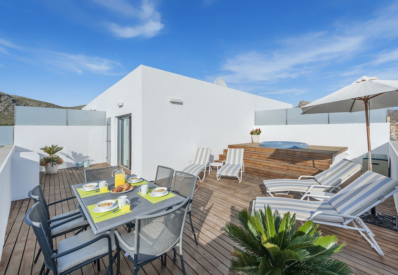 Apartment in Port de Pollença - Penthouse Rosas 1C