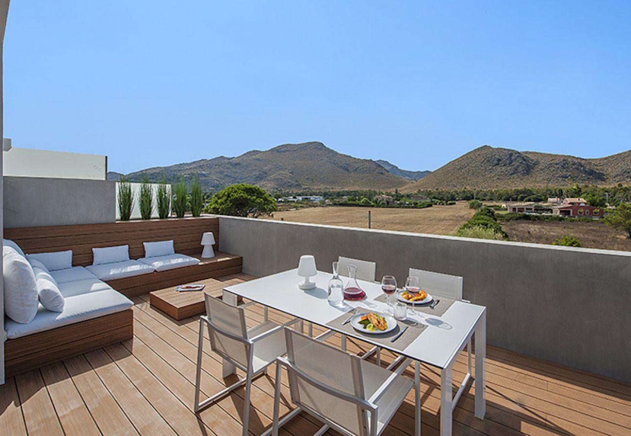 Apartment in Port de Pollença - Penthouse Dalias